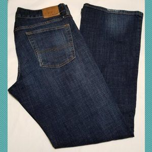 Lucky Brand Dark Wash 455 Relaxed Bootcut Jeans